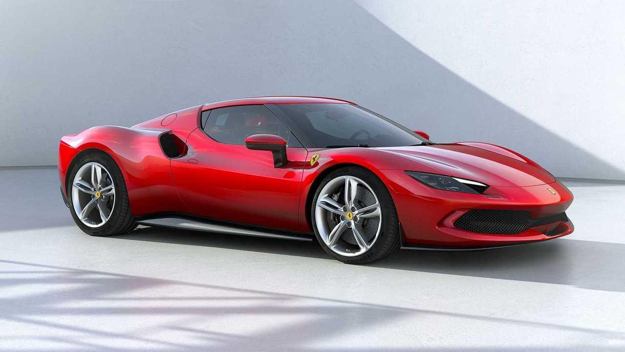 Der neue Ferrari 296 GTB in Dreiviertelansicht vorne
