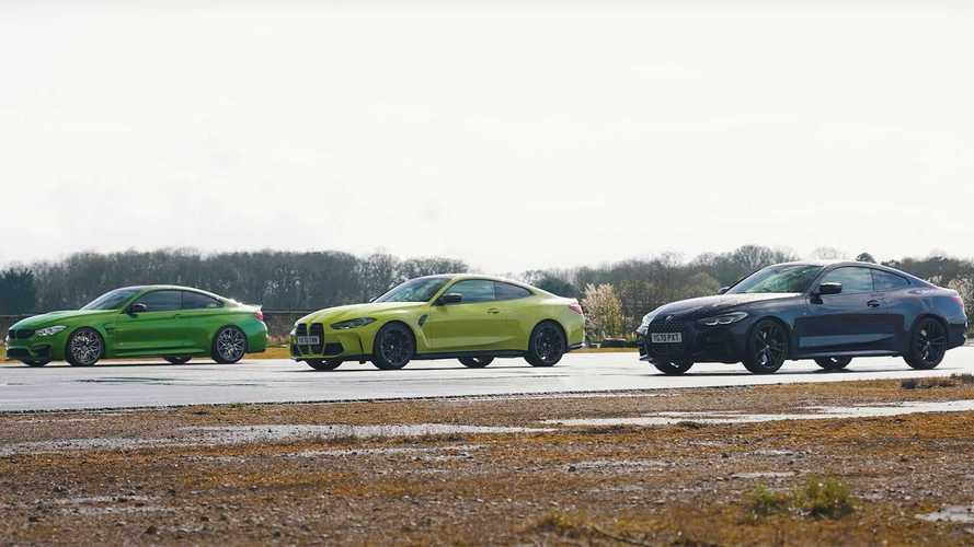 Yeni BMW M4, M440i ve eski M4 karşısında!