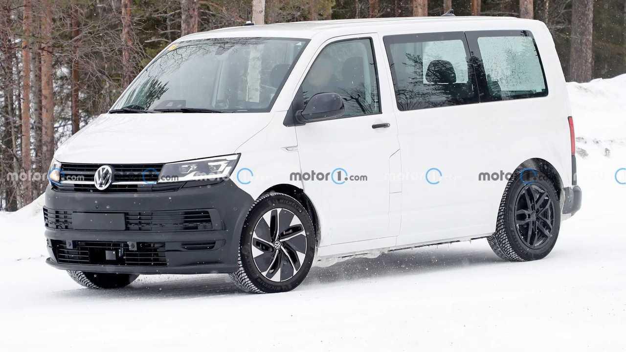 VW ID Buzz Test Mule