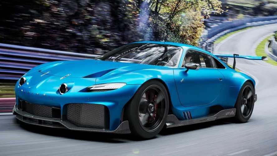 ¿Te imaginas un Alpine GTA con motor 6 cilindros y 500 CV? Nosotros sí