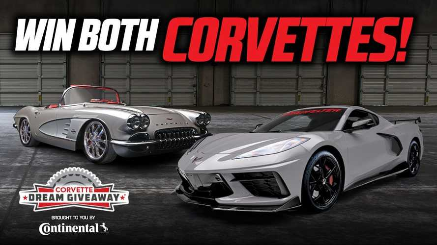 Enter Now For Chance To Win Two Amazing Corvettes And $43,000 Cash