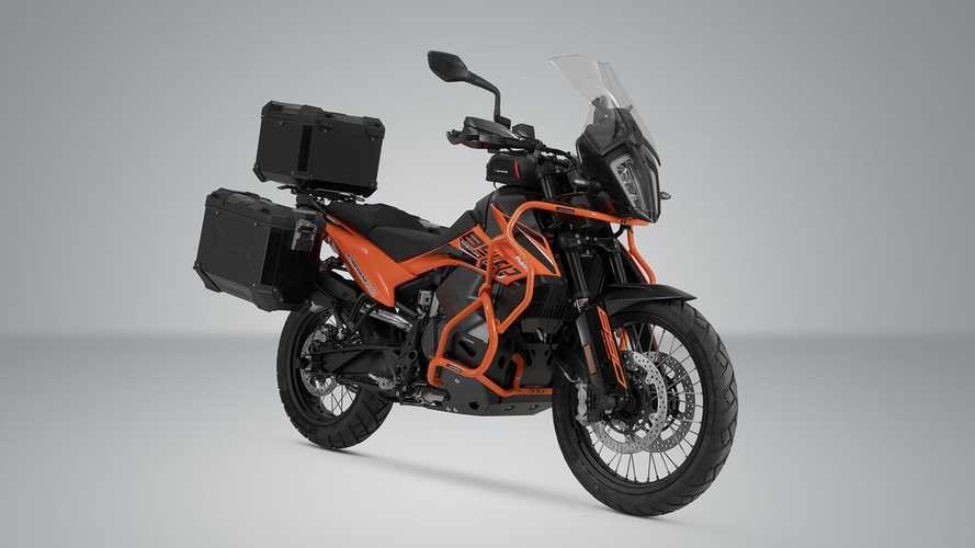 SW-Motech Launches Luggage And Protection For KTM 890 Adventure