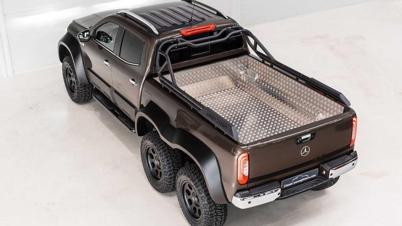 Шестиколесный Mercedes X-класс от Carlex Design