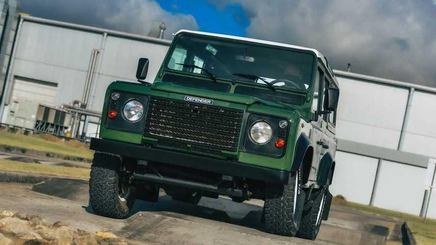 Clínica de Restauração para modelos clássicos Jaguar Land Rover