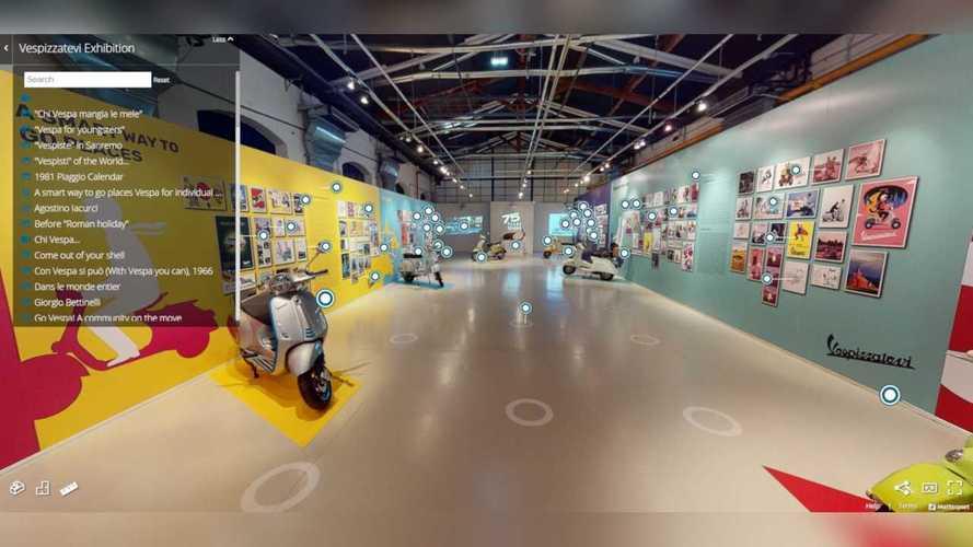 Museo Piaggio Vespa 75th Anniversary Exhibit