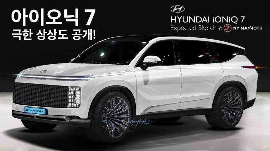 Hyundai Ioniq 7 ve Ioniq 6 için yapılan hayali tasarımları görün