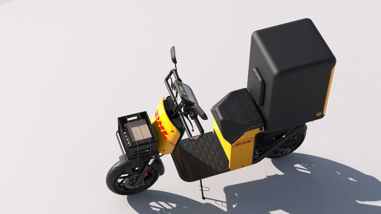 The Dispatch Electric Scooter Is Your Modular Delivery Buddy