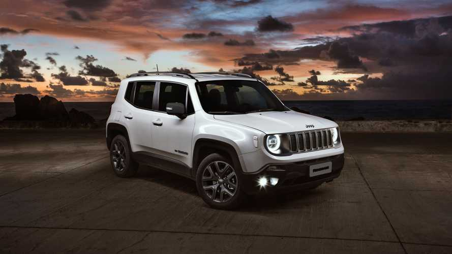 Jeep Renegade 80 Anos é lançado com mais conectividade por R$ 123.490