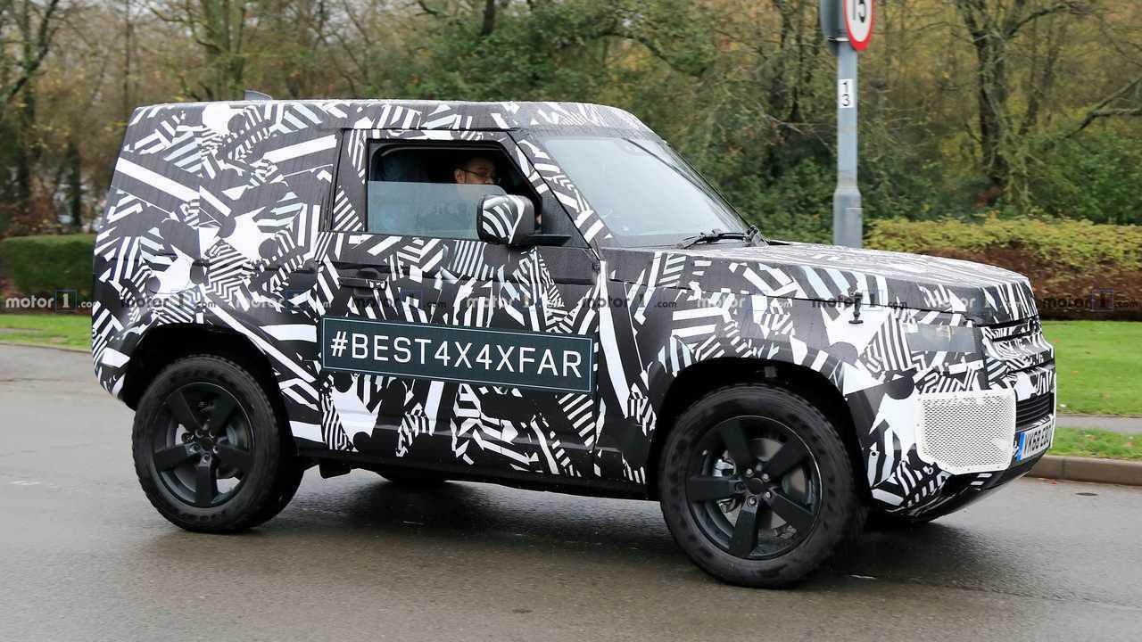 2020 Land Rover Defender 90 photos espion