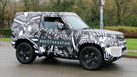 Land Rover Defender (2020) als Kurzversion erwischt