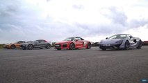 Audi vs. Mercedes Vs. McLaren Vs. BMW