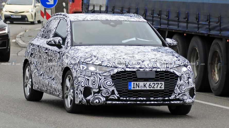 2019 Audi A3 Sportback new spy photos
