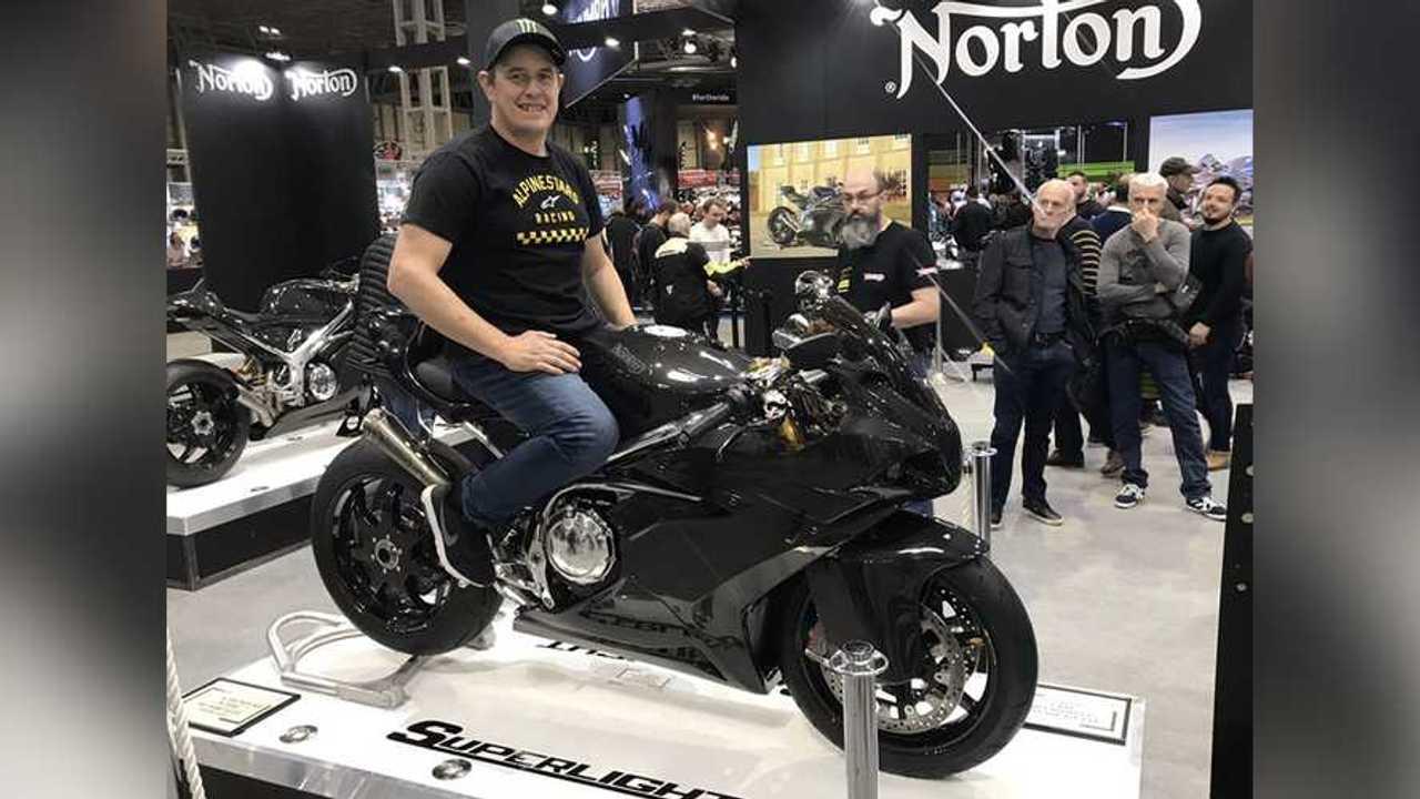 Norton Superlight John McGuinness TT