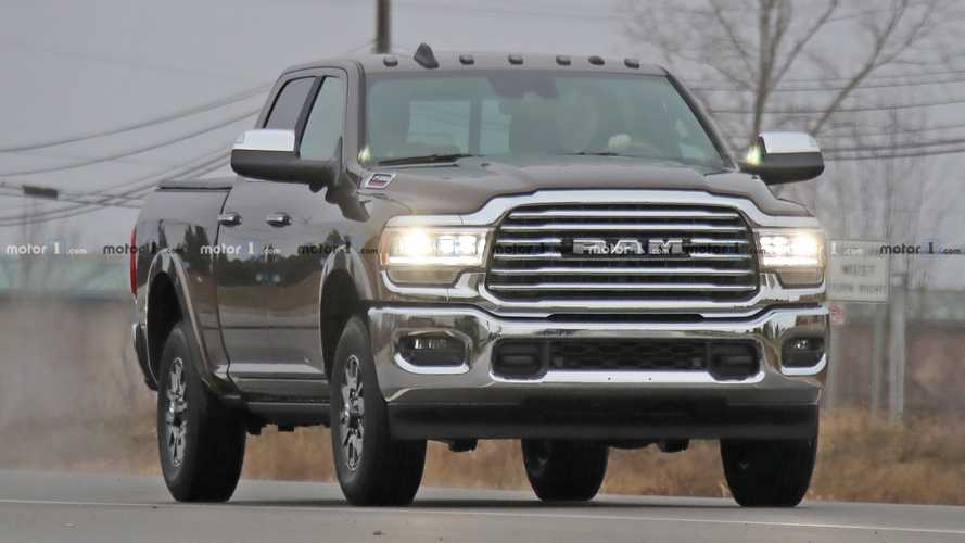 2020 Ram HD Lineup Spy Shots