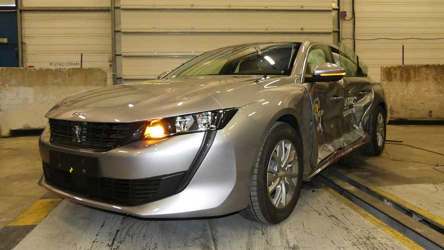 Nuova Peugeot 508 Euro NCAP crash test