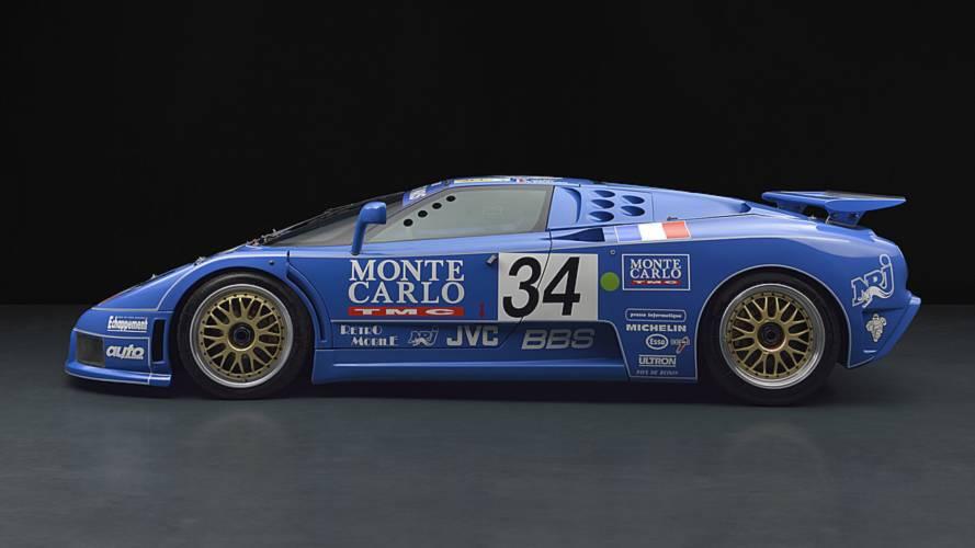 Bugatti EB110 LM and EB110 SC GTS-1