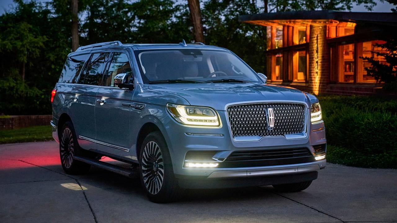 14. Full-Size Luxury SUV/Crossover: Lincoln Navigator