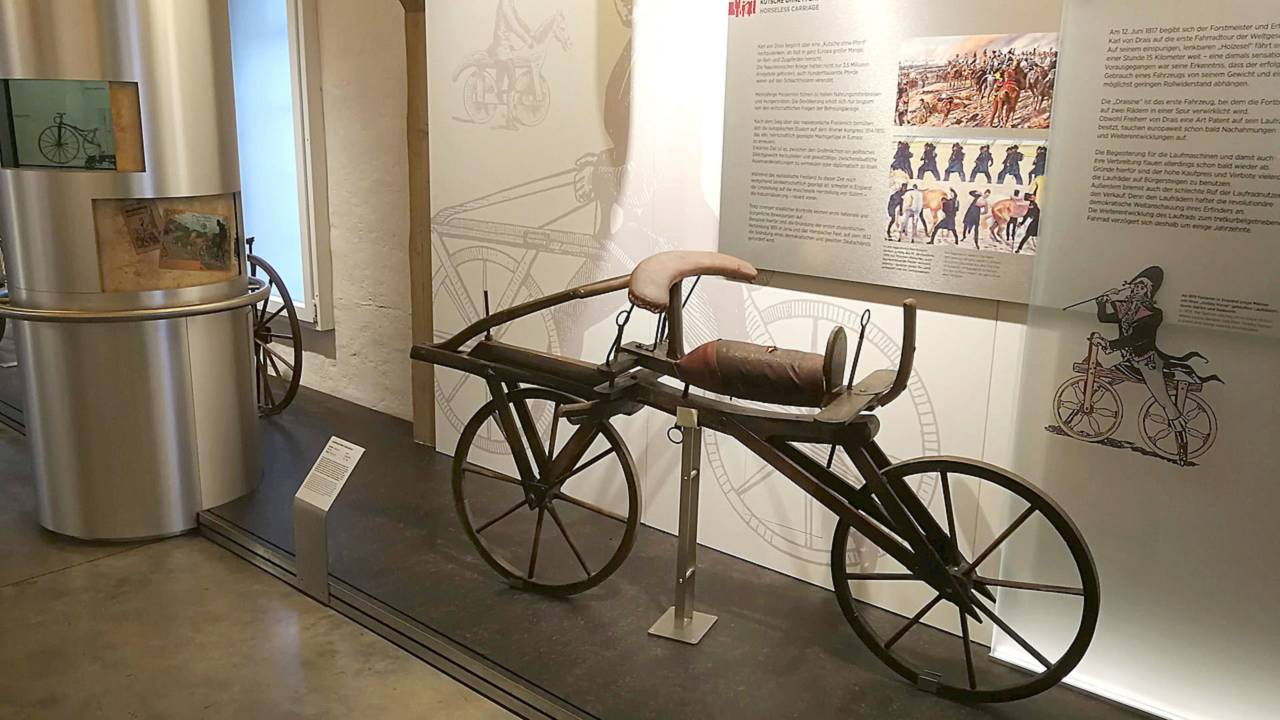Karl von Drais bike
