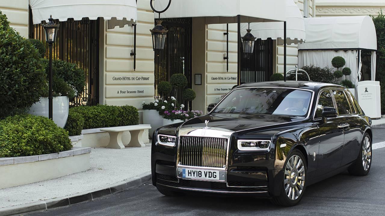 Rolls-Royce Phantom, prova da passeggero
