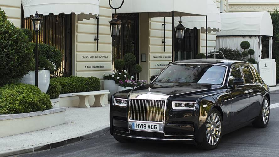 Rolls-Royce Phantom, una prova da passeggero
