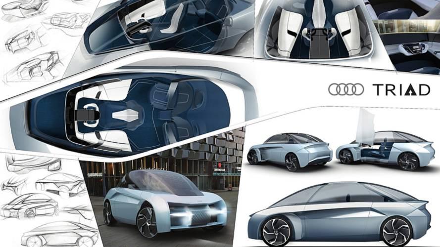 Il futuro di Audi immaginato dagli studenti