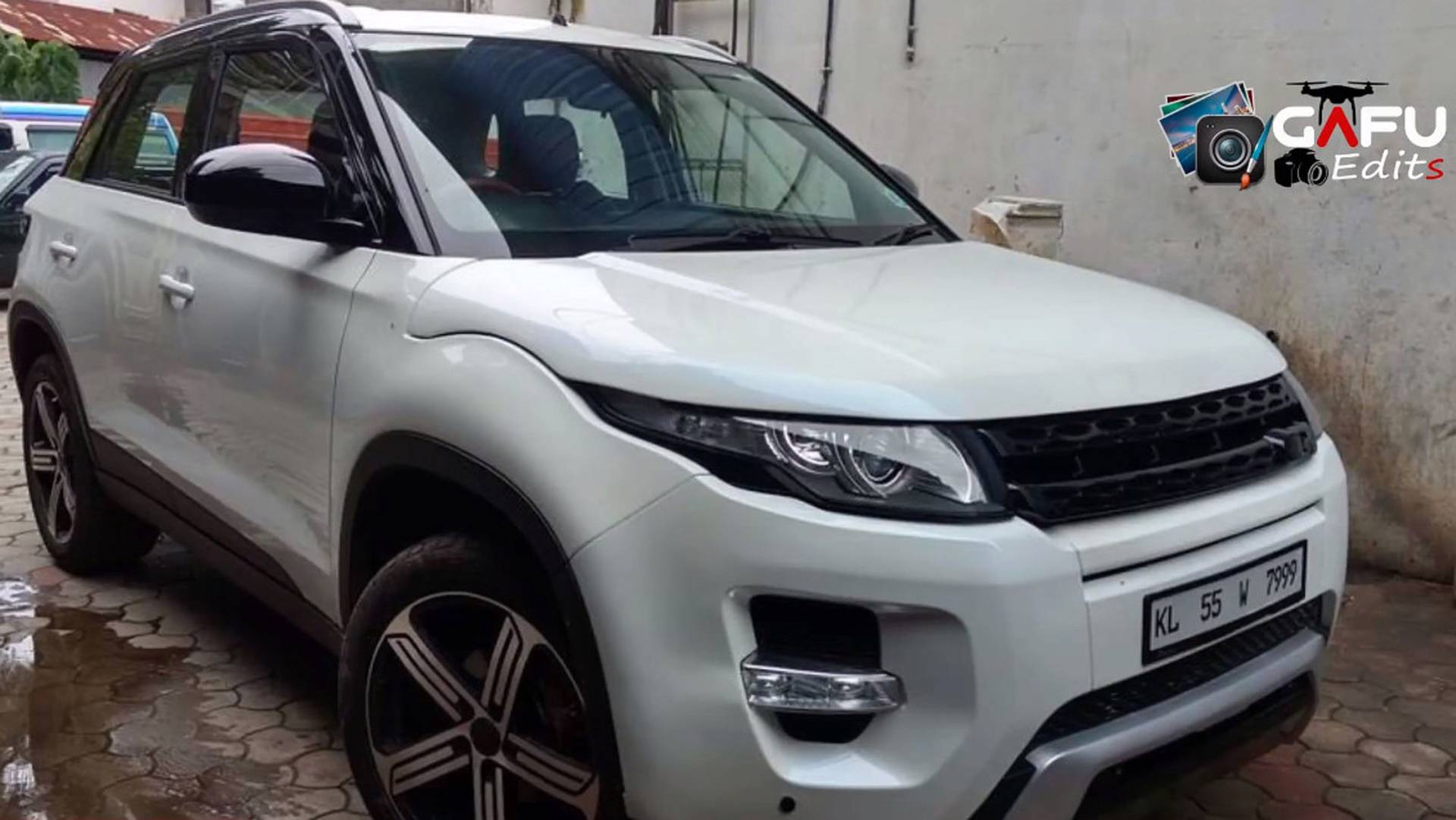 No This Is Not A Range Rover Evoque