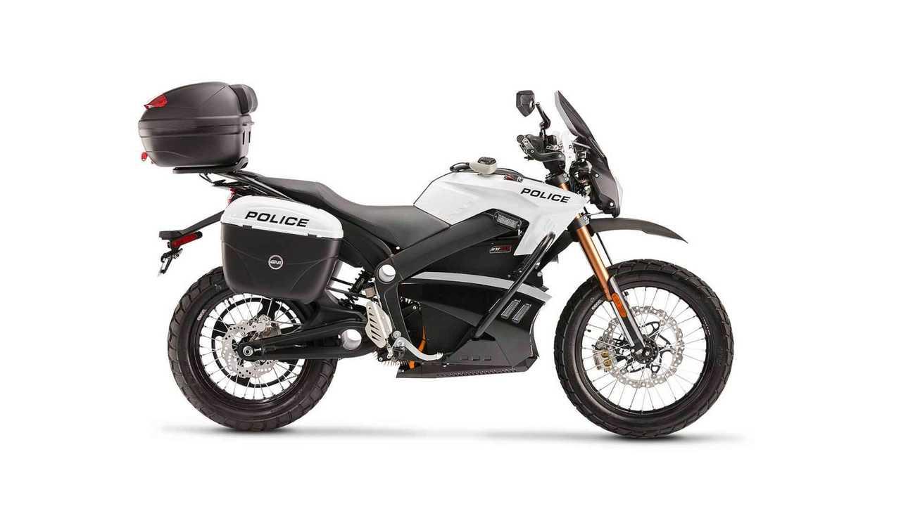 Zero Police Motorcycle