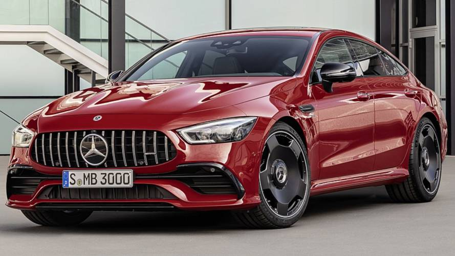 Mercedes-AMG GT 43 Four-Door Coupe debuts with inline-six engine