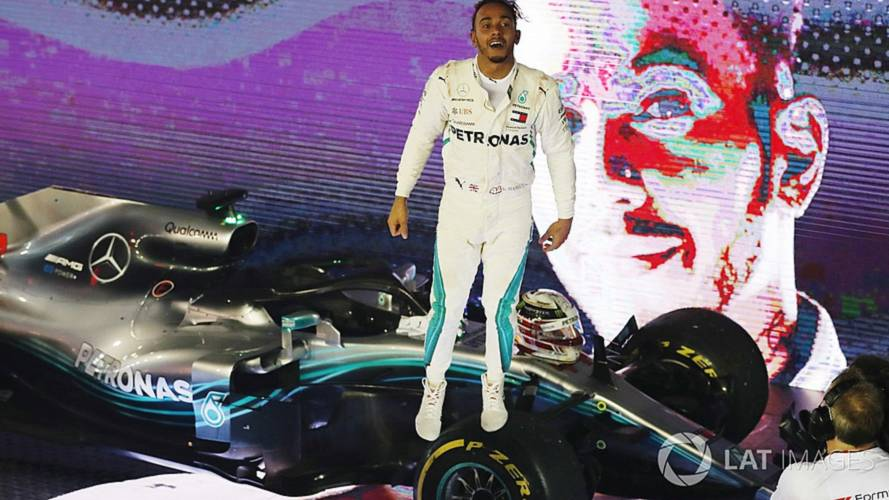 2018 F1 Singapore GP: Hamilton Wins From Verstappen And Vettel
