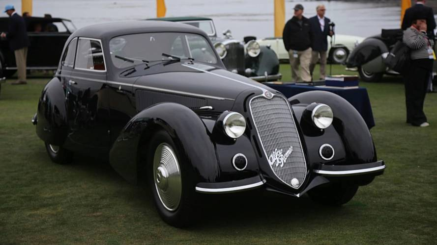 1937 Alfa Romeo 8C Wins The Pebble Beach Concours