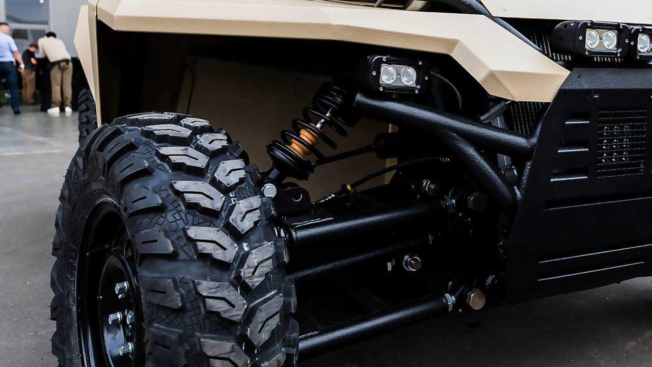 A military ATV