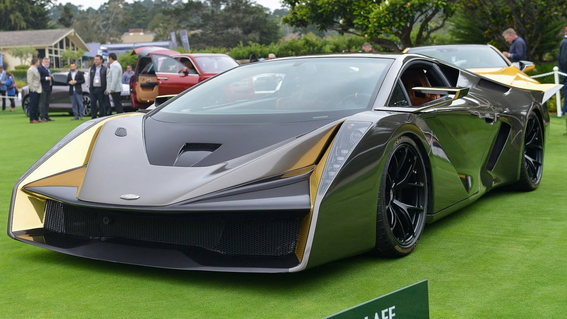 Lamborghini Gallardo Hiding Underneath Edgy Coach-Built Supercar