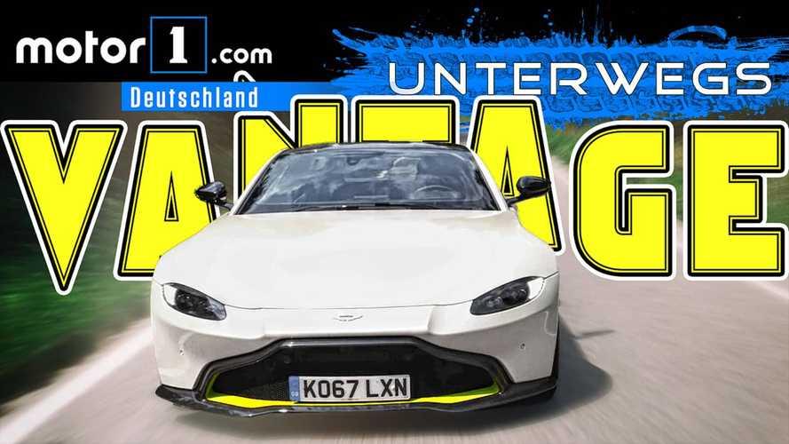 Beunruhigend schnell: Aston Martin Vantage | UNTERWEGS mit Daniel Hohmeyer