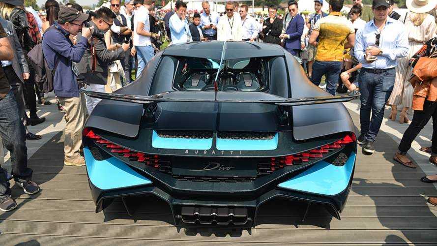 Bugatti Divo live from Monterey