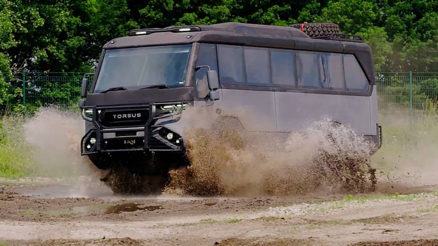 Torsus Praetorian Is The Off-Road Bus You Wish You Rode To School