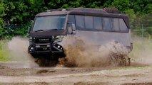 Torsus Praetorian: Ultra-robuster Schwerlast-Bus fürs extreme Gelände