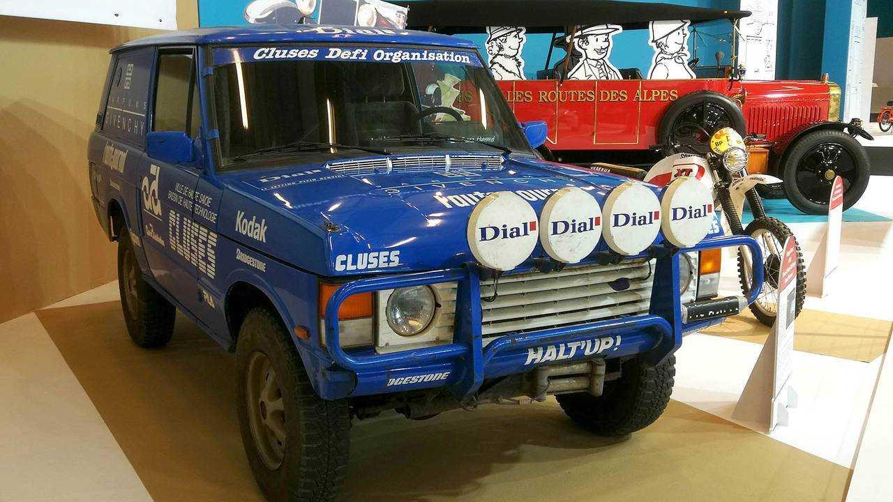 Range Rover (1990) Trans-African Challenge