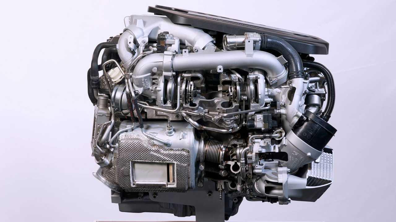 BMW M Performance TwinPower Turbo inline-6-cylinder diesel engine.