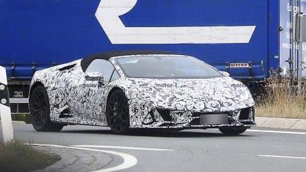 Voici la Lamborghini Huracan Spyder restylée !