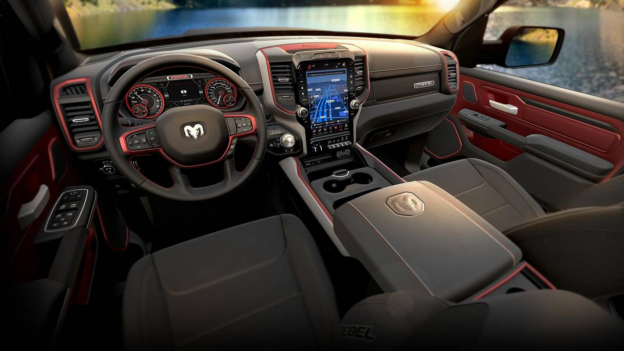 2019 Ram 1500 Rebel 12 Arrives With Better Tech For Rugged ...