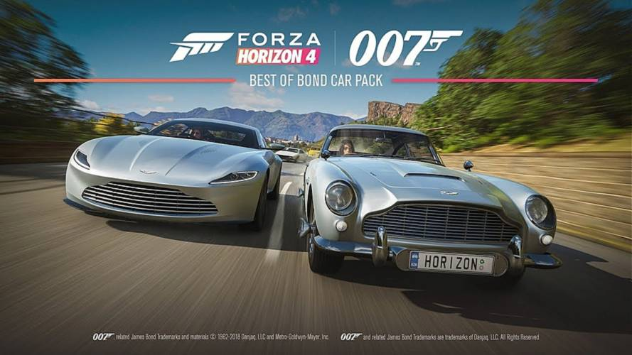 Drive Like Agent 007 With Forza Horizon 4's Bond Car Pack [UPDATE]