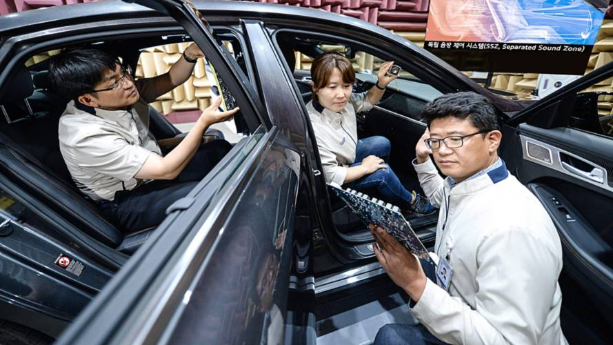 Hyundai Separated Sound Zone Technology