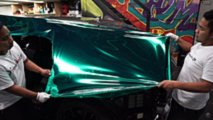 Turkuaz Krom Renginde Lamborghini Urus ve Aventador S
