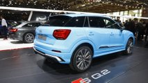 Audi SQ2 at the Paris Motor Show