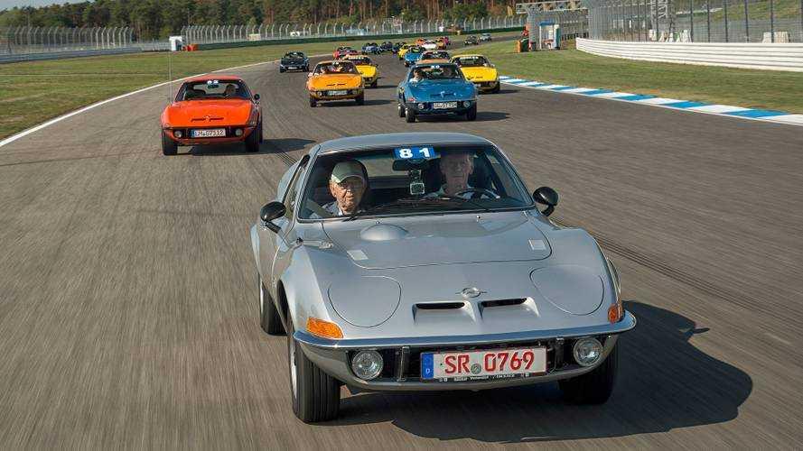50 Jahre Opel GT: Party in Hockenheim