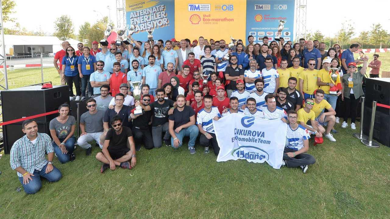 Shell Eco-marathon Türkiye'de ödüller sahiplerini buldu