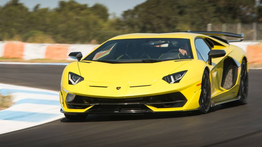 Test: Lamborghini Aventador SVJ