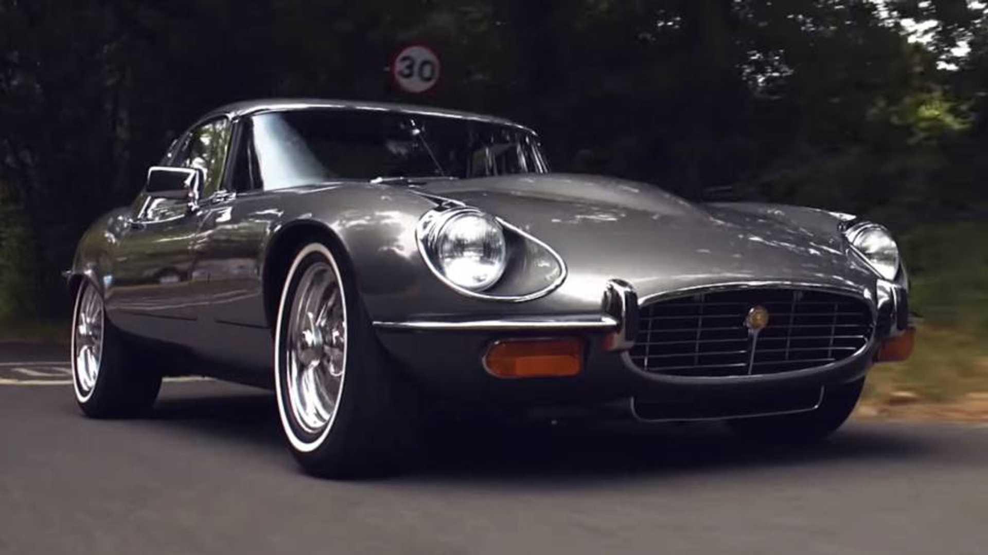 Jaguar E Type >> Jaguar E Type Restomod Combines Timeless Design With Modern Tech