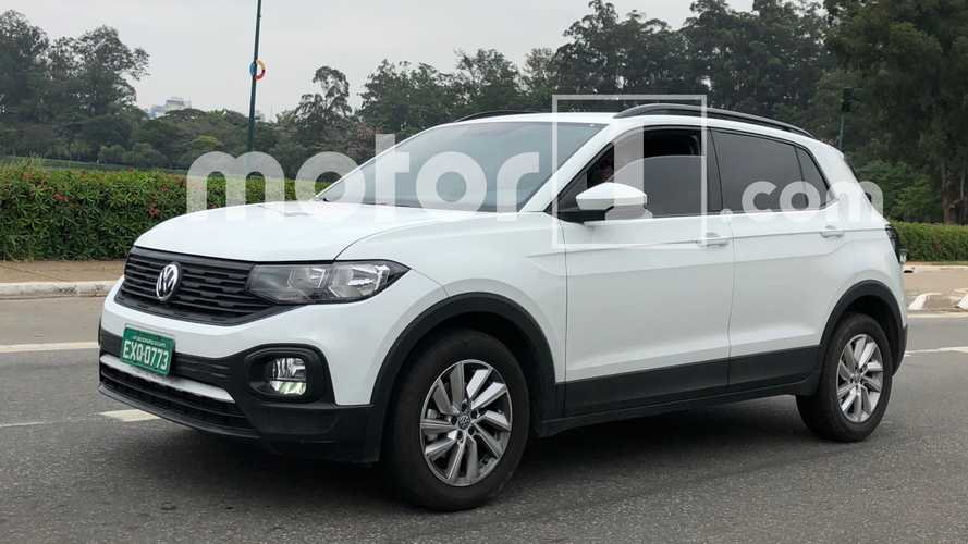 Flagra: Este é o novo VW T-Cross mais barato