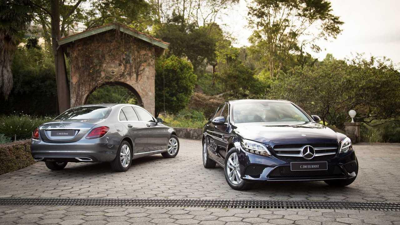 Mercedes C200 abre